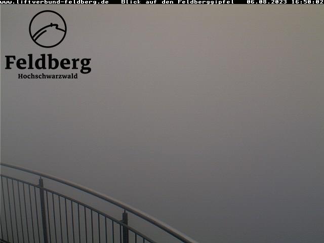 Feldberg - Blick auf den Feldberg-Gipfel